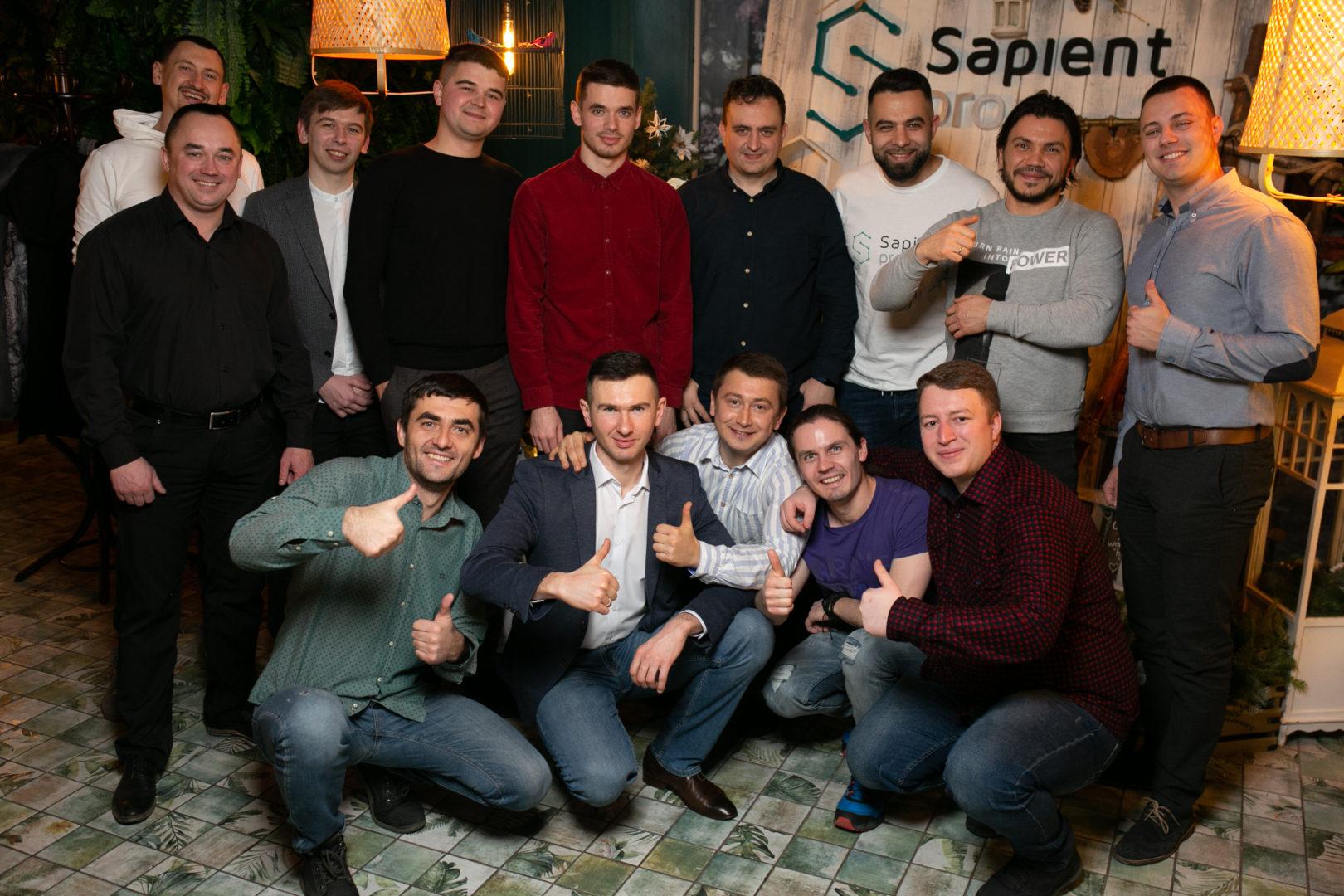 SapientPro crew