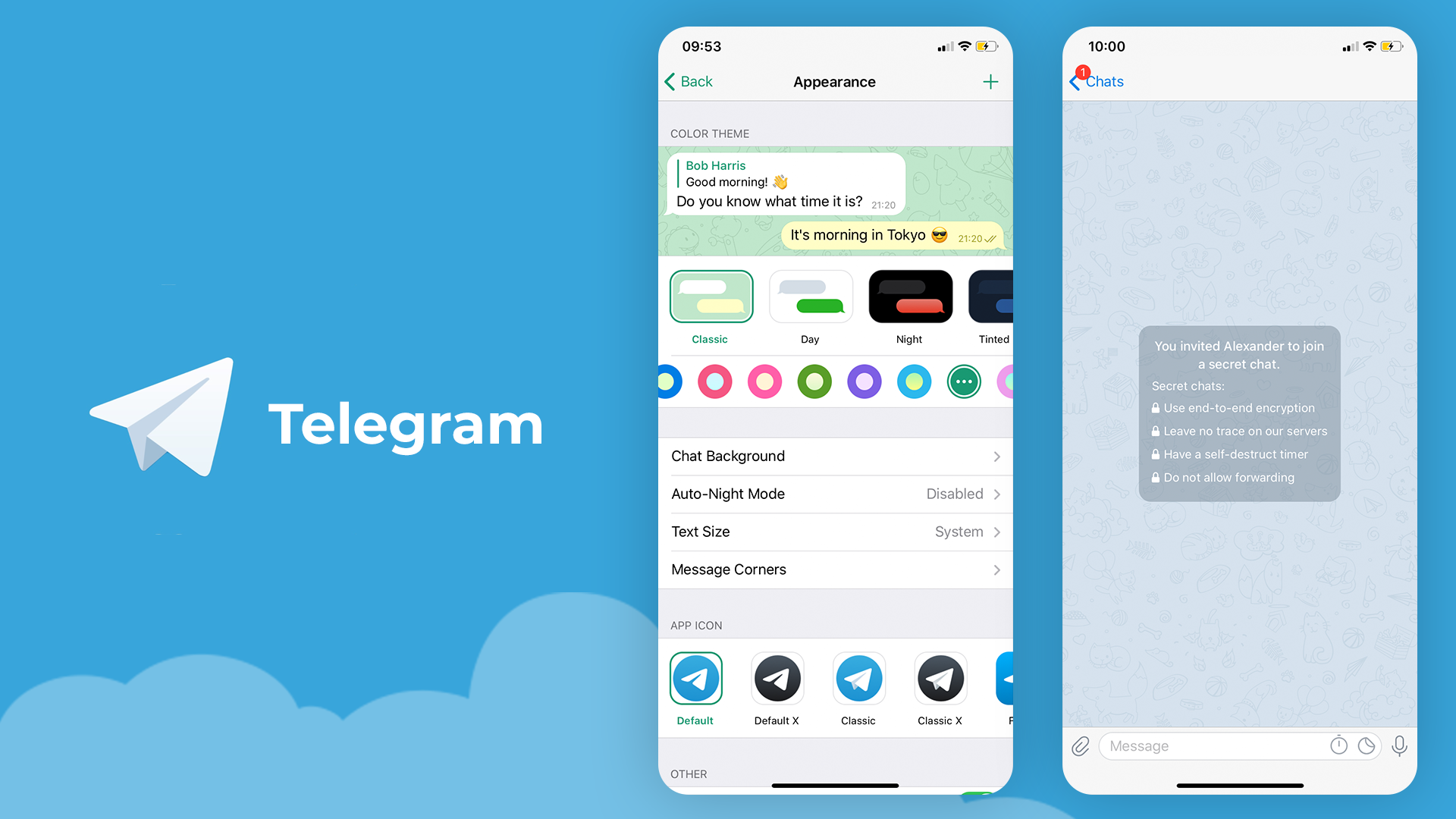 Telegram for work chat